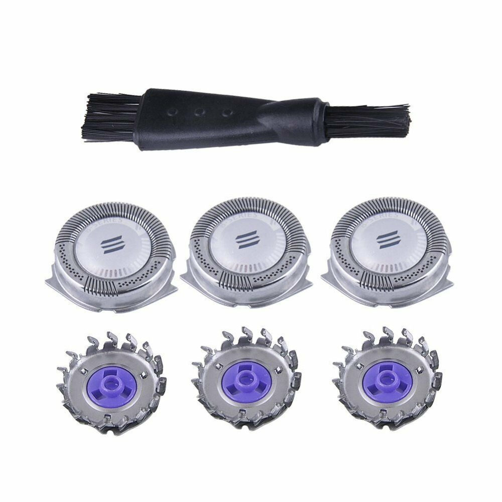 3x Electrical Replacement Shaver Heads for <font><b>Philips</b></font> Norelco HQ8 AT750 <font><b>PT720</b></font> AT751 AT890 AT891 PT710 <font><b>PT720</b></font> 7800XL HQ8160 8890XL image
