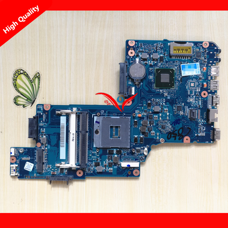 H000038360 HM76 Motherboard Fit For Toshiba Satellite C850 C855 L850 L855 Notebook PC. 100% working