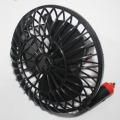 free shipping Summer Supplies 12V Powered Mini Car Truck Vehicle Cooling Air Fan Car Fan 4Inch