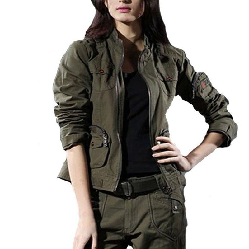 Camouflage jacket damen