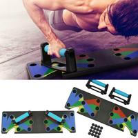 Push Up Rack Board 9 in 1 Body Building Comprehensive Fitness Exercise Tools Men Women Push up Stands For GYM Body Training