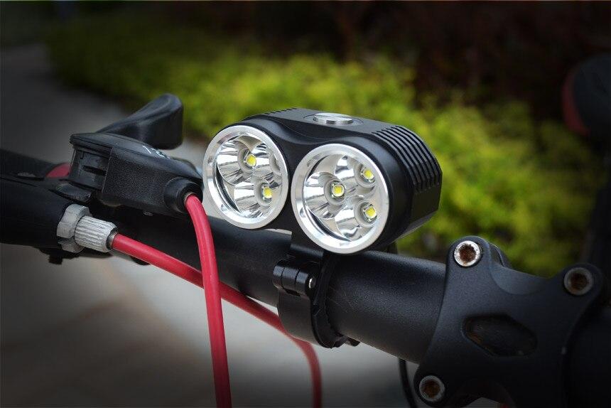 10000 Lumen Wasserdicht 6 * CREE XM-L T6 LED Fahrrad Licht Lampe