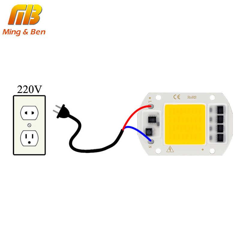 Светодиодный COB чип для выращивания полный спектр Фито лампа AC220V 10 Вт 20 Вт 30 Вт 50 вт DIY Fitolamp для комнатных растений рассады Цветок светильник для роста