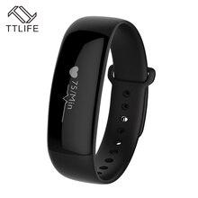 TTLIFE Bluetooth Smart Браслет Жизнь Водонепроницаемый фитнес Шагомер сна умный группа PK fitbit xio Mi mi Группа 2