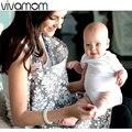 Transpirable lactancia materna 100% algodón muselina de lactancia materna de privacidad de delantal al aire libre alimentación del bebé de tela de cubierta