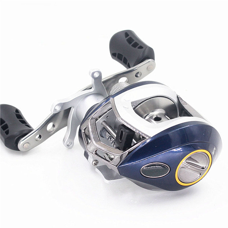 Classic Baitcasting Reel Right/Left Hand Carp Fishing Gear Ratio 6.3:1 6+1 BB Bait Casting Free Shipping Fishing Wheel tsurinoya bait casting reel 9 1bb 6 6 1 baitcasting wheel magnetic