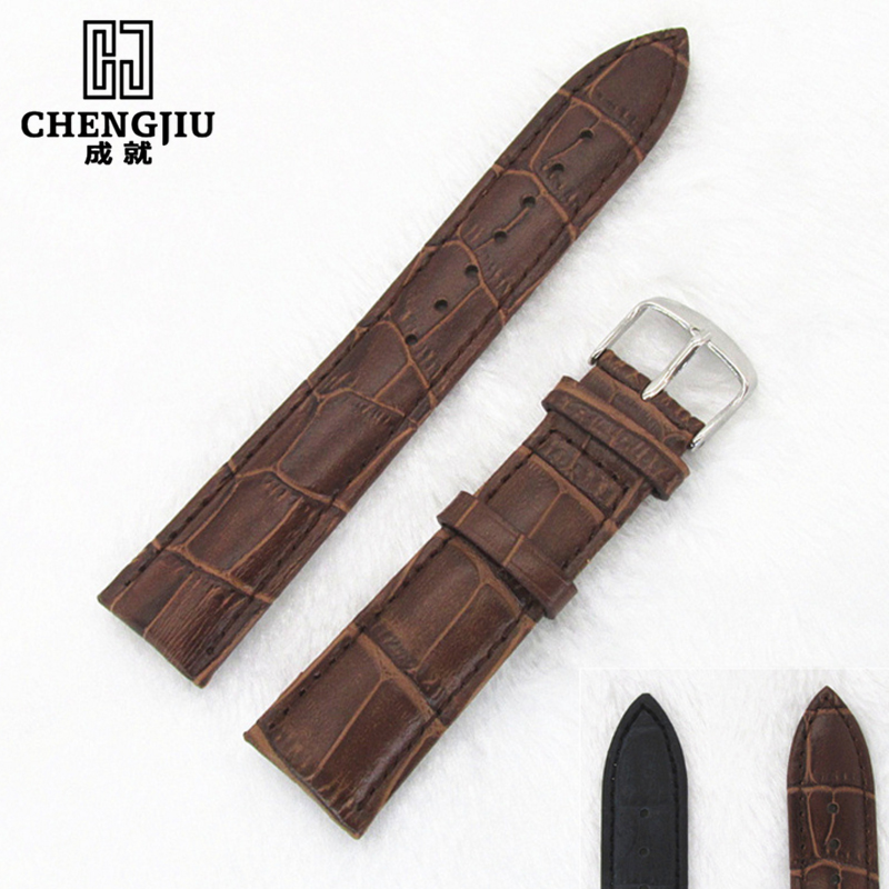 Genuine Leather Watchbands For Tissot/Mido/LV/DIOR For 1853 T050 Waterproof Men Women Buckle Strap Watch Strap Fits All Brand сыворотка the skin house the skin house th009lwgoy26