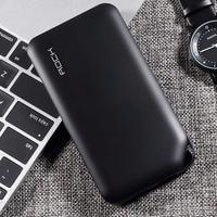 Рок Мощность Bank 10000 мАч для Xiaomi Портативный внешний Батарея Зарядное устройство Ultra Slim Мощность банка для iphone X samsung Примечание 8 S8