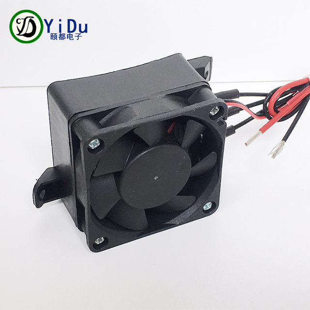 electric fan heaters 2007 chevy equinox engine diagram constant temperature heater ptc 120w 12v dc small space heating
