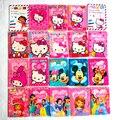 As meninas gostam de Moda PVC Titular do Passaporte em Couro, Mickey e Minnie dos desenhos animados olá kitty Capa de Passaporte de Viagem Caso