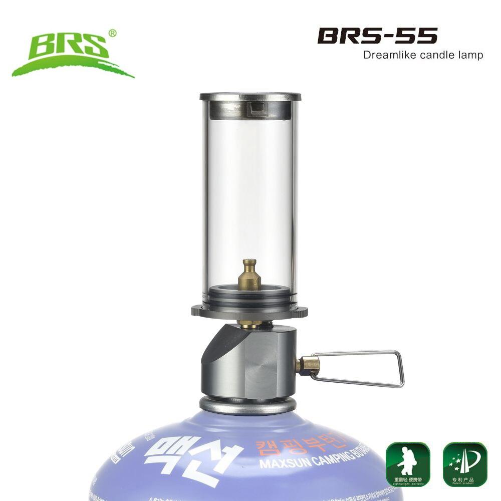 BRS-55 портативная лампа для кемпинга на открытом воздухе, свечи, мини газовый фонарь, уличные фонари, дорожные наборы, газовое освещение для н...