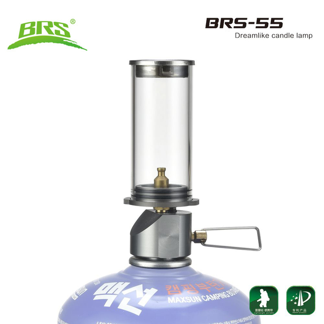 Brs 55 Portable Gas Torch Outdoor Survival Camping Lamp Ultralight Tourist Tent Light Candle Hiking Lantern Kamp Accessaries