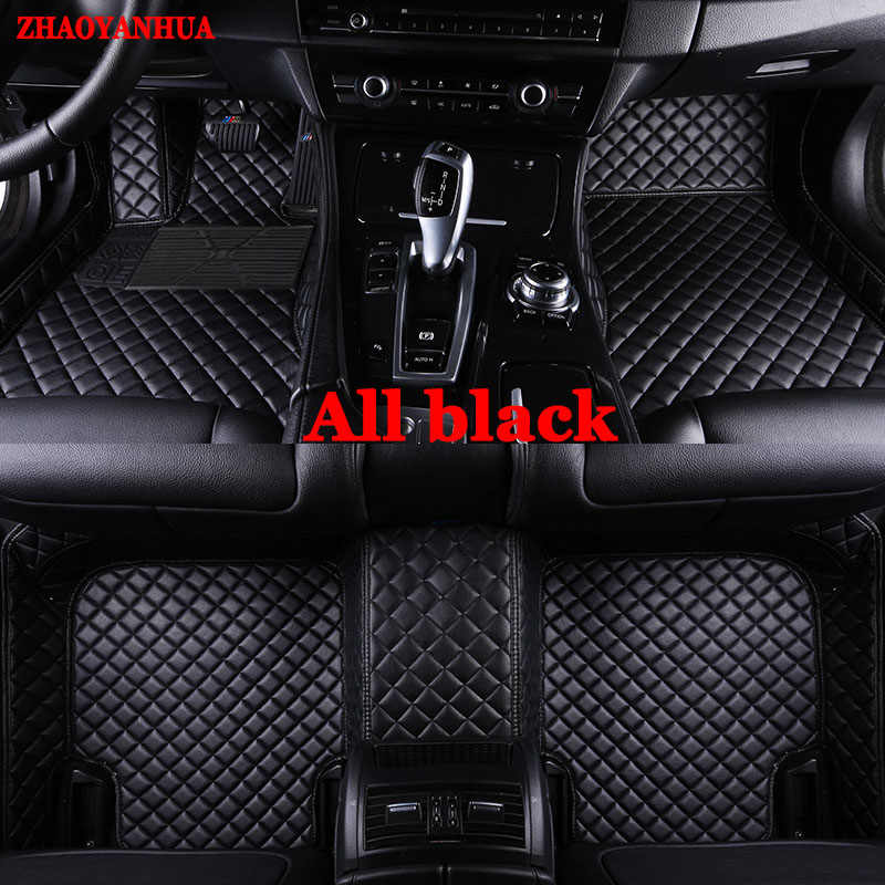Custom made floor liners for Audi A3 A4 A5 A6 allroad A7 A8 A8L Q3 Q5 Q7 5D waterproof all weather car floor mats