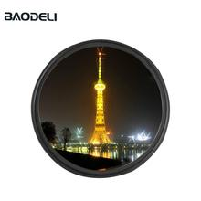 BAODELI Camera Lens Filtro Star Filter 6 Point 49 52 55 58 62 67 72 77 82 mm For Canon Dslr Nikon Sony X3000 A600 Accessories sioti 30 37 43 62 67 72 77 82 gradient camera color filter with cleaning cloth for canon for nikon for sony for dslr camera lens