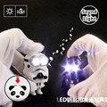 Minions Cosplay Star Wars LED Flashlight Keychain Utterance Sound Darth Vader Stormtrooper The Force Awakens Key King Gift