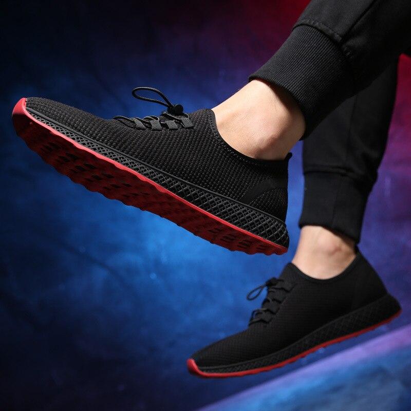 38 Up Casuais Viagem Sapatos Black 44 Backcamel Luz Plana Homens 2018 De Lazer Respirável Dos Quente Novos Verão Tamanho Masculinos Lace UUWEHByacq