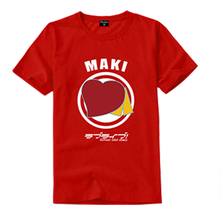New Lovelive Kotori Minami Nozomi Tojo Yazawa Nico Cosplay T-shirt Costume Unisex T Shirt Tees Tops все цены