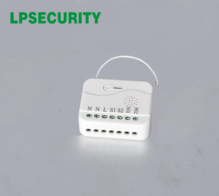 LPSECURITY  TZ75 Roller Shutter Smart In-wall Module Z-Wave Based 868.42Mhz /908.42Mhz / 921.42Mhz