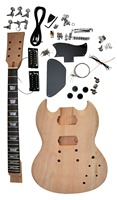 G USA SG 400 electric guitar kits /Diy guitar mahogany body