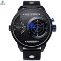 Real Radar Scanning Men Sport Watch LED Digital Watch Analog Round Wristwatch Male Waterproof Fashion Quartz Sport Watch Men