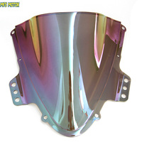 Motorcycle Part Magic Color For Suzuki GSXR 1000 K5 Double Bubble Windshield Windscreen Iridium 2005 2006