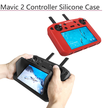 Buy 5.5in Silicone Case with Sunhood Protective Case Protector Skin Cover for DJI Smart Controller for DJI Mavic 2 Pro Zoom directly from merchant!