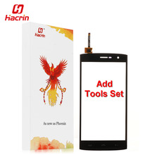 hacrin HOMTOM HT7 touch screen 5.5inch + Tools Set Gift High Quality Digitizer glass panel Assembly Replacement for cell phone