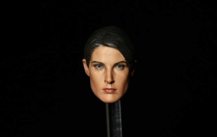 1/6 scale figure head shape for 12 Action figure doll Marvel's The Avengers Maria Hill Female head for figure, not include body