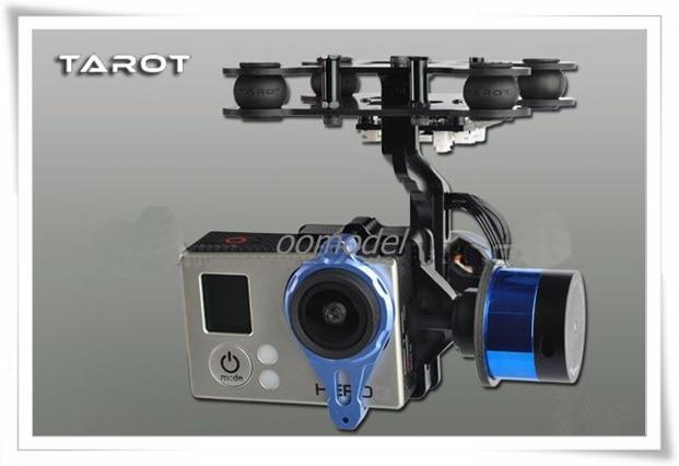 Tarot G-2D Gopro cardan sans brosse avec Gyro TL68A00 Tarot 2 axes support de caméra Tarot Multirotor pièces de rechange livraison gratuite