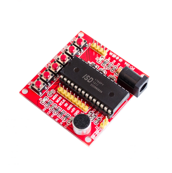 BBOXIM 1PCS China Cheaper ISD1700 Series Voice Record Play ISD1760 Module ISD1760 Module PIC AVR