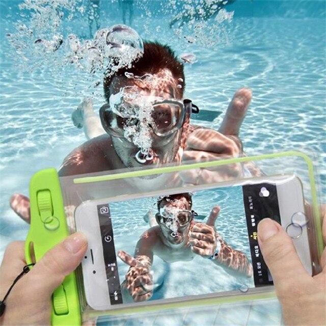 Водонепроницаемый телефон case для fly iq4413 evo chic 3 quad аксессуары сенсорный мобильный телефон водонепроницаемый мешок, аксессуары для смартфона