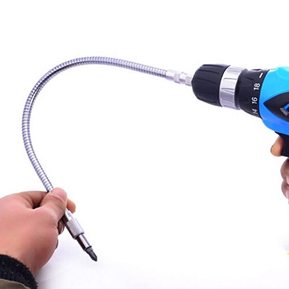 Ehrlich Metall Einfach Flexible Biege Welle Anschluss Adapter Link Für Elektronische Bohrer Hardware Heimwerker