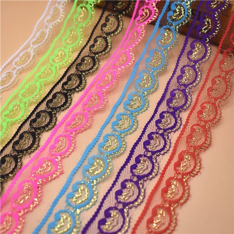 10 метров красивая кружевная тесьма 22 мм широкий белый кружевная бейка ming для шитья DIY вышитые одежды Свадебные украшения кружевная бейка