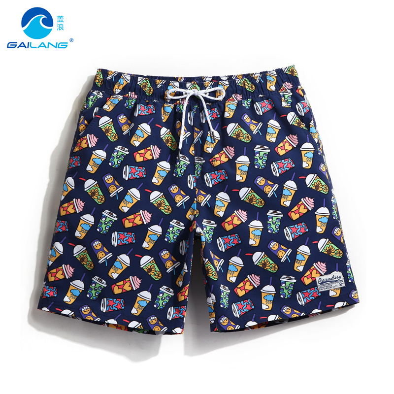 Gailang summer couples   board     shorts   men siwimming trunks beach vacation hawaiian praia lovers surf   shorts   bermudas plavky suits