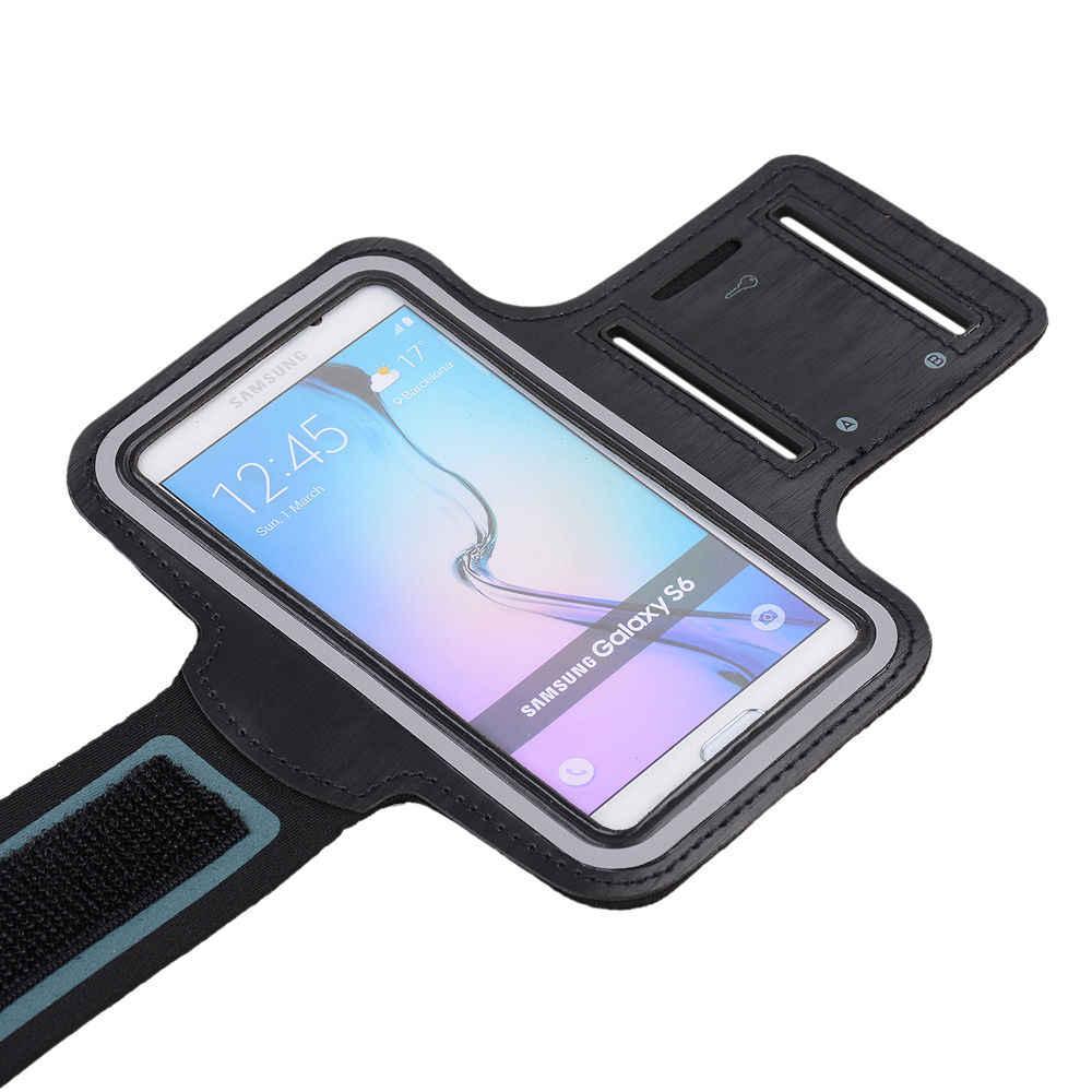 """6 """"sportowe do biegania wodoodporna opaska na ramię do iPhone'a 7 Plus XS MAX XR pokrowiec na opaska na ramię do XiaoMi RedMi Note 7 7A 6 Pro etui na telefon"""