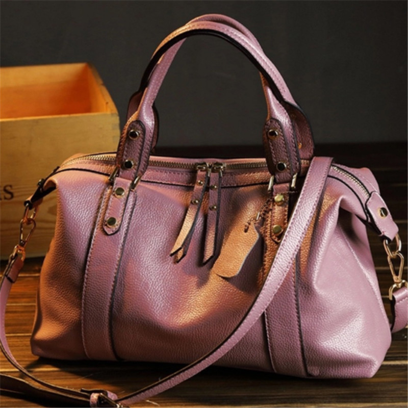 B0121 Natural cowhide women handbag genuine leather bags ladies big shoulder handbags fashion women messenger bags casual tote genuine leather fashion women handbags bucket tote crossbody bags embossing flowers cowhide lady messenger shoulder bags