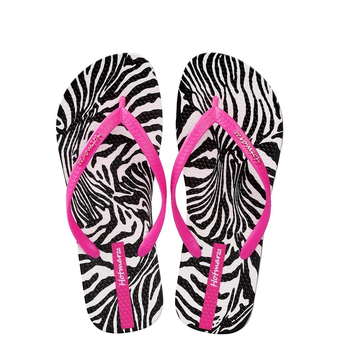 Cebra Mujeres De Flops Flip Zapatillas Estampado Hotmarzz Playa bgyvY6f7
