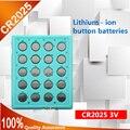 Alta qualidade novo 20 pcs * 2025 CR2025 3 V Célula Tipo Moeda Bateria plana Para Assista Calculadora Toy Fone De Ouvido