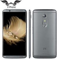 Оригинальный ZTE Axon 7 A2017 4 г LTE мобильный телефон 4/6 ГБ Оперативная память 64/128 ГБ Встроенная память snapdragon 820 4 ядра 2.15 ГГц 5.5 дюйма 20.0MP отпечатков ...