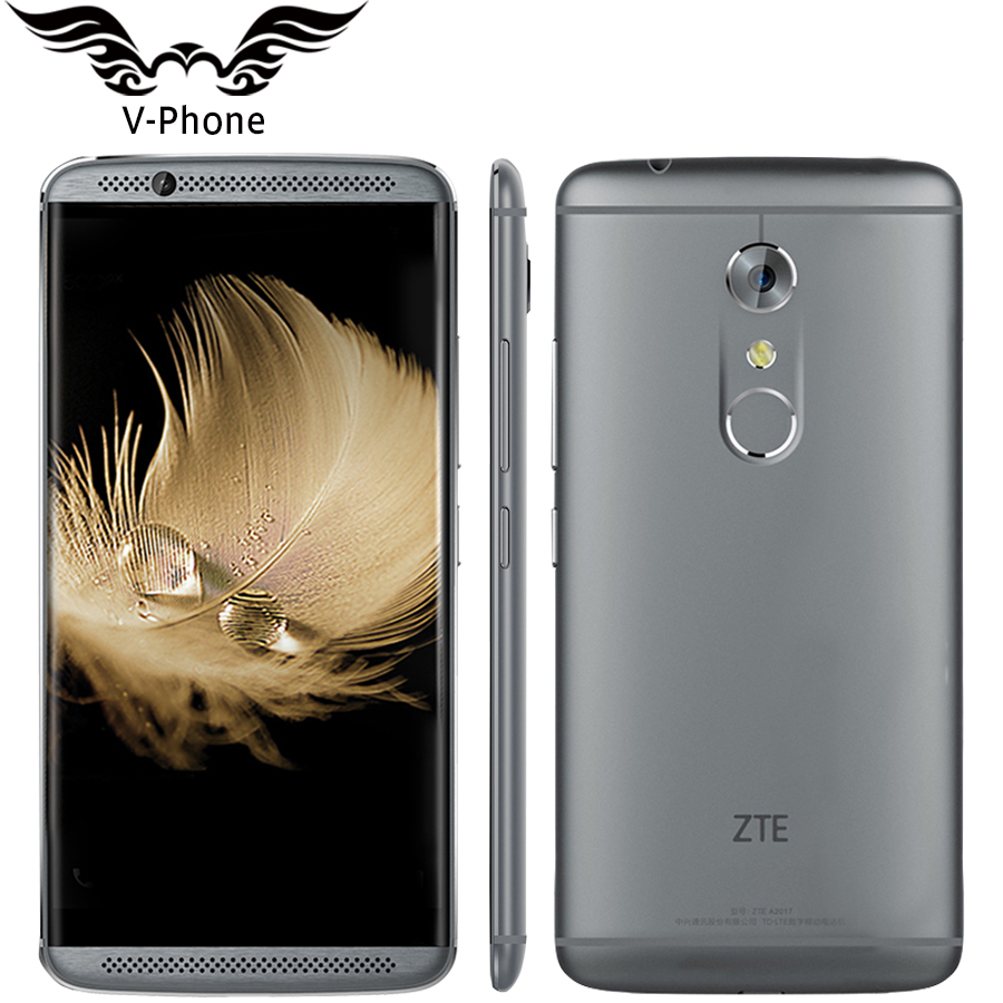Original ZTE Axon 7 A2017 4G LTE Mobile Phone 4 6GB RAM 64 128GB ROM Snapdragon