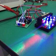 300 mW RGB rojo verde azul combinado láser Mini blanco módulo láser iluminación de escenario