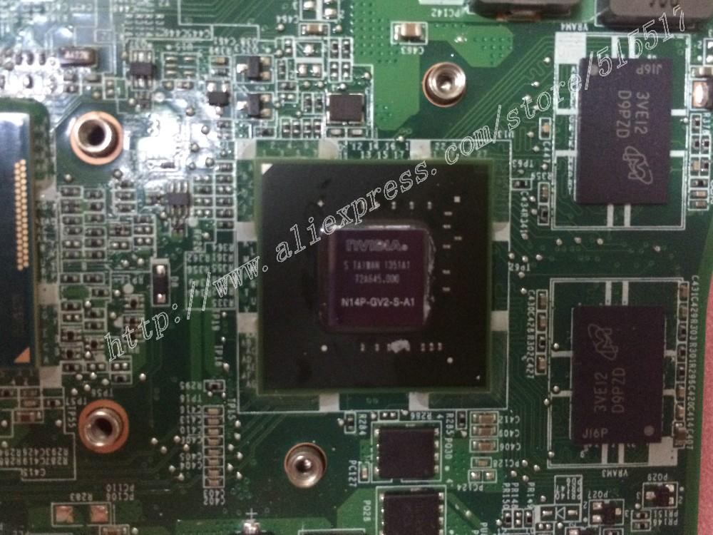 Mainboard for DELL 14 5439 5470 V5470 DPN 0JPMWP 4