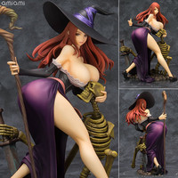 Anime 1/7 Scale 21cm Dragon's Crown Sorceress Resin Complete Figure GK model sexy action figure Collectible anime toys