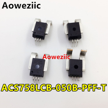 Aoweziic 1Pcs New Original Bidirectional Linear Current Sensor ACS758LCB-050B-PFF-T ACS758LCB-050B ACS758 40mV/1A