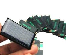 Solar panel 5V 30MA Polycrystalline Solar cell panel for DIY Solar light or toys .  .