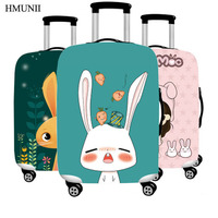 HMUNII High Quality Waterproof Stretch Luggage Travel Case Travel Dust Cover Bag Cover 20 24 26