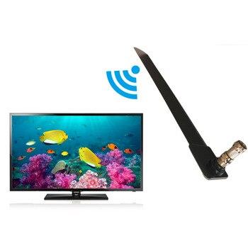 Tamaño compacto con estilo inicio TV HD TV Digital antena interior diseño delgado y elegante casa antena interior para televisión gota negro libre