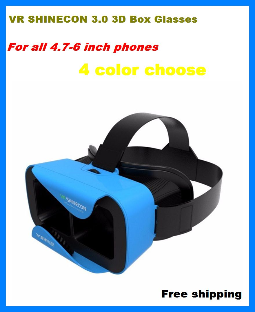 Shinecon <font><b>VR</b></font> Virtual Reality 3D <font><b>Glasses</b></font>,Head Mount <font><b>VR</b></font> <font><b>BOX</b></font> 3.0 for Xiaomi Redmi Note 3 Pro for Huawei <font><b>Mate</b></font> 8 for samsung iphone