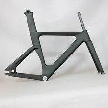 2019 OEM новая полная трековая карбоновая рама, дорожные рамы с фиксированной передачей, велосипедная рама с вилкой, карбоновая велосипедная Рама