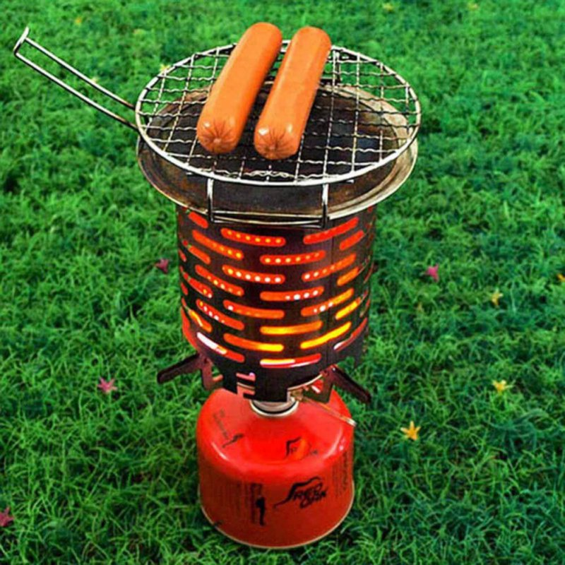 Lightweight Winter Camping Heating Stove Heater Travel Barbecue Heating Cover
